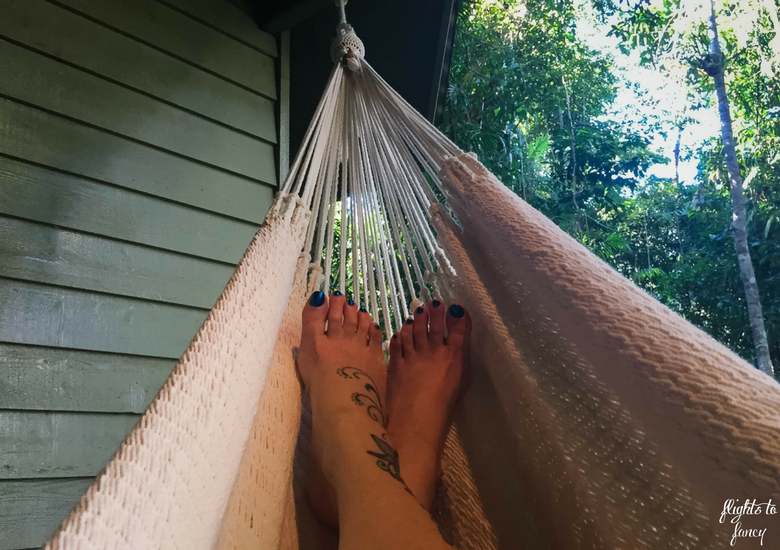 Flights To Fancy: Silky Oaks Lodge Mossman Queensland - Feet Up In The Hammock