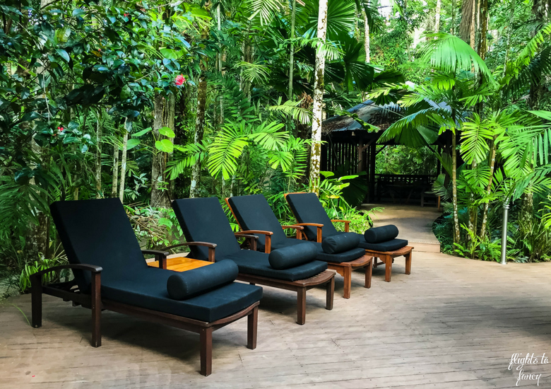 Flights To Fancy: Silky Oaks Lodge Mossman Queensland - Pool Lounges