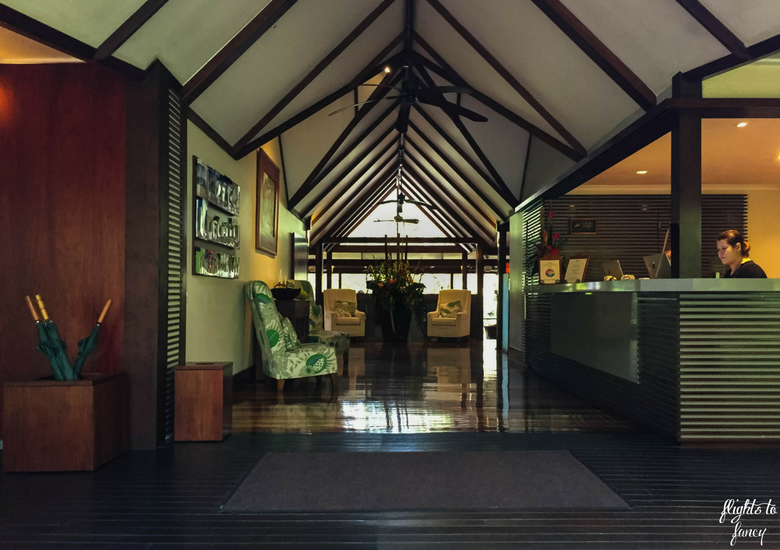 Flights To Fancy: Silky Oaks Lodge Mossman Queensland - Reception