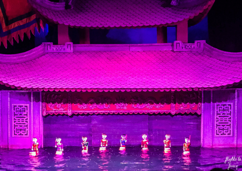 Flights To Fancy: Thang Long Water Puppet Theatre - Drumming Puppets