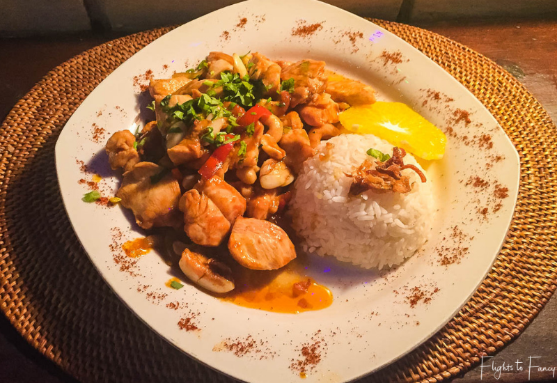 Fair Warung Bale Ubud Orange Chicken