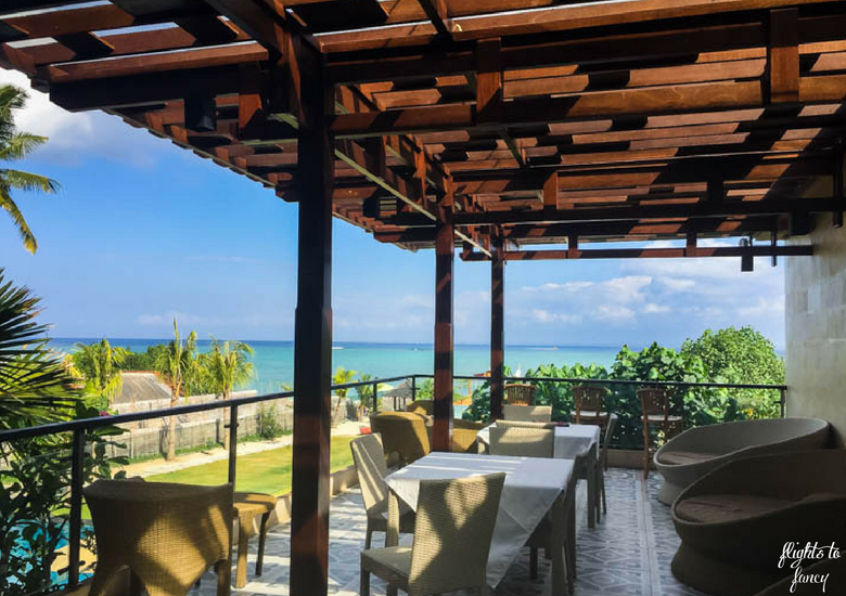 Flights To Fancy d'Nusa Beach Club & Resort_ Lembongan Luxury - Breakfast Restaurant Terrace