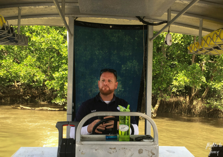 Flights To Fancy: Bruce Belchers Daintree River Cruises - Captain Ray