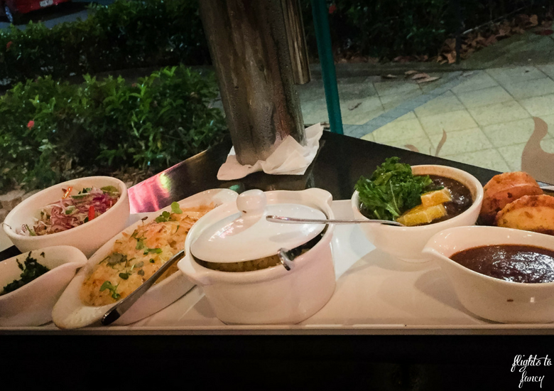 Flights To Fancy: Bushfire Flame Grill Cairns Kitchen - Australian Style BBQ All You Can Eat Sides