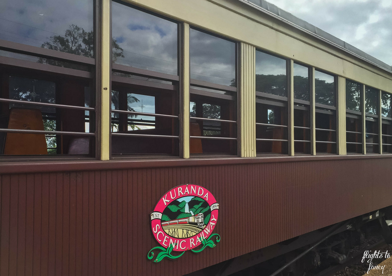 Flights To Fancy: Kuranda Scenic Railway Gold Class - Carriage