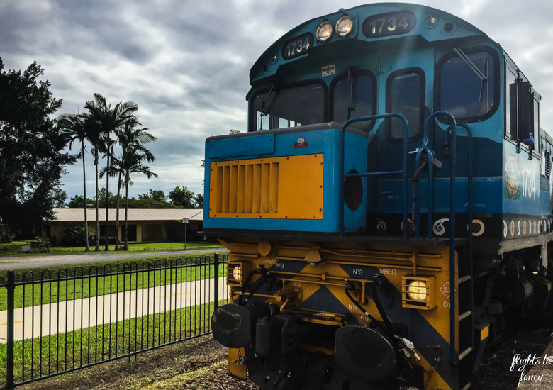 Flights To Fancy: Kuranda Scenic Railway Gold Class - Engine