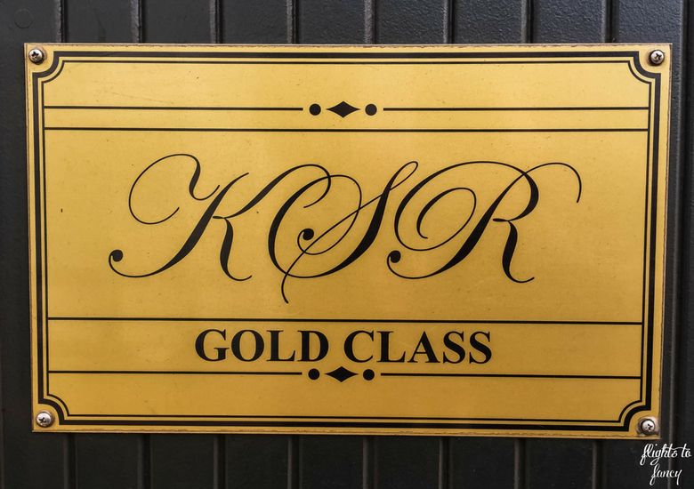 Flights To Fancy: Kuranda Scenic Railway Gold Class - Gold Class Sign