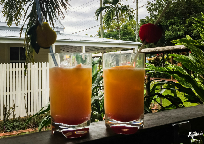 Flights To Fancy: Kuranda Scenic Railway Gold Class - Pre-Trip Mocktails