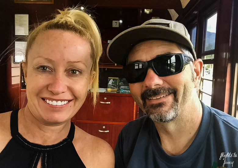Flights To Fancy: Kuranda Scenic Railway Gold Class - Selfie