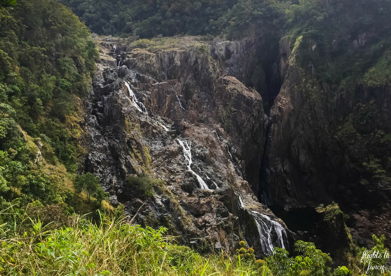 Flights To Fancy: Kuranda Scenic Railway Gold Class - Barron Falls