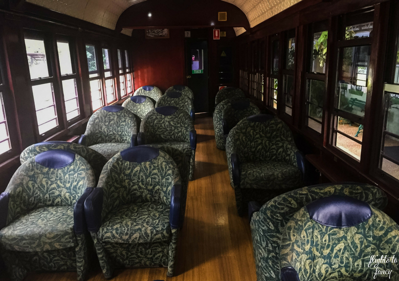 Flights To Fancy: Kuranda Scenic Railway Gold Class - Gold Class Cabin