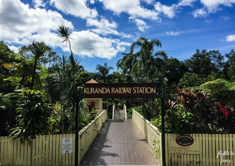 Flights To Fancy: Kuranda Scenic Railway Gold Class - Kuranda Station