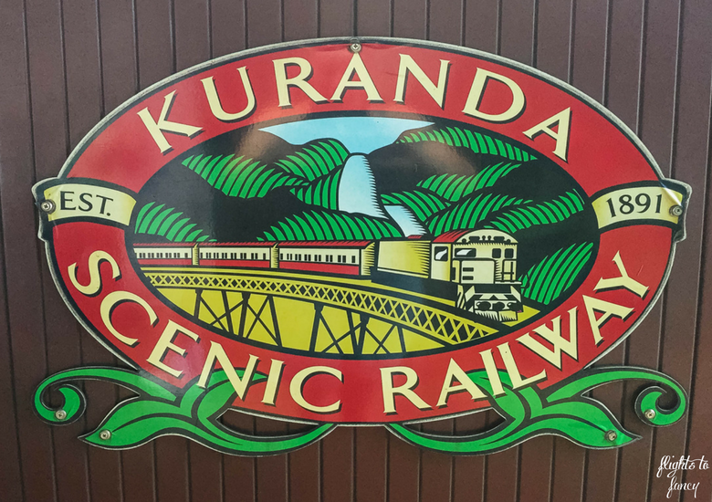 Flights To Fancy: Kuranda Scenic Railway Gold Class - Sign
