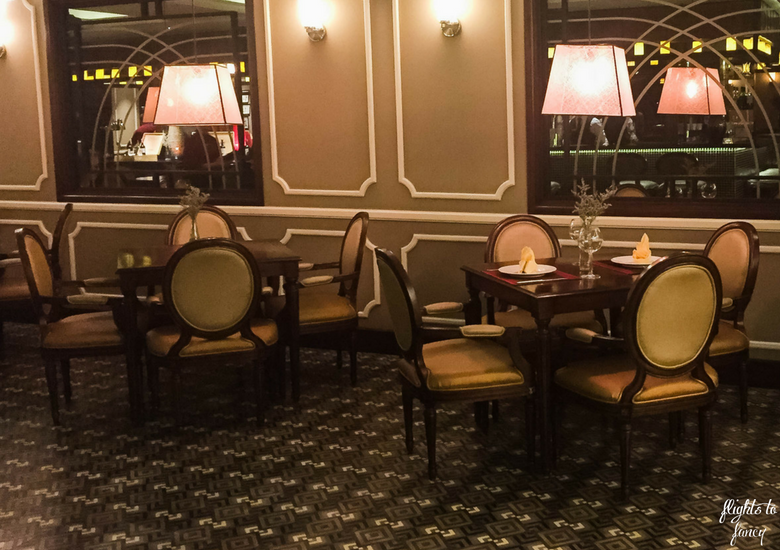 Flights To Fancy: Red Bean Restaurant Hanoi - Dining Room