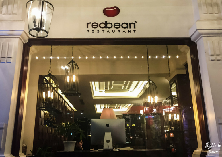 Flights To Fancy: Red Bean Restaurant Hanoi - Red Bean Hanoi Exterior