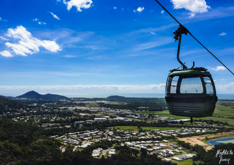 Flights To Fancy: Skyrail Rainforest Cableway Cairns - Cablecar Above Cairns