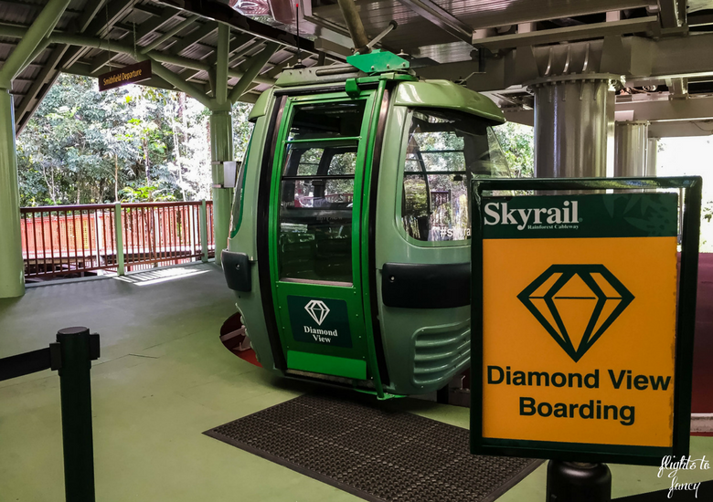 Flights To Fancy: Skyrail Rainforest Cableway Cairns_ Diamond View Priority Boarding
