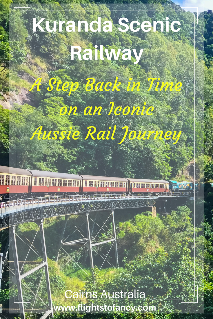 One of my favourite things to do in Cairns is to spend a morning on the Kuranda Scenic Railway Gold Class. This is one of the absoluetl best ways to explore Australia's Wet Tropics World Heritage Area in Tropical North Queensland. Did I mention it comes with champagne?