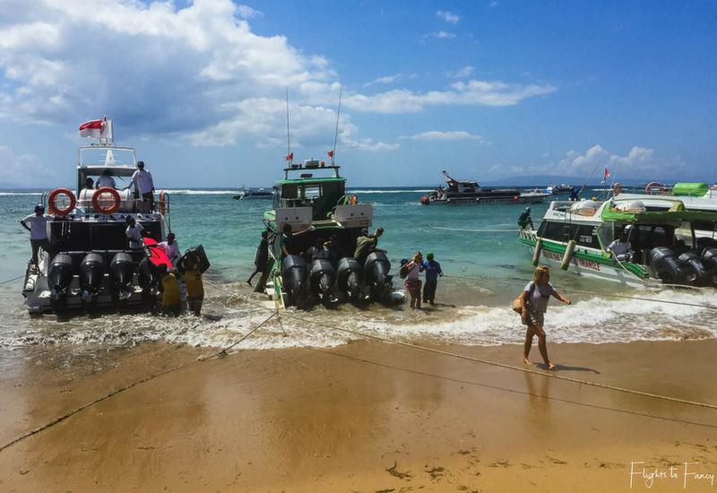 Scoot Fast Cruises Bali Fast Boat to Lembongan