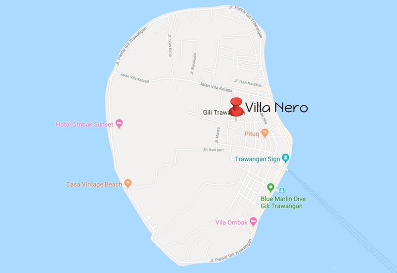 Villa Nero Location