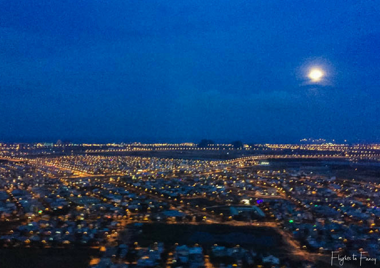 Flights To Fancy: Vietjet Air A320 Domestic Economy - Danang At Night From The Air