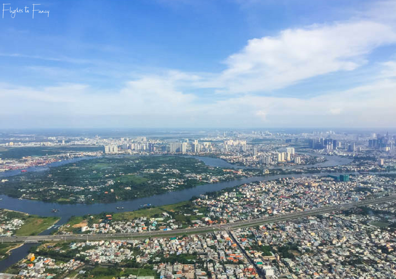 Flights To Fancy: Vietjet Air A320 Domestic Economy - Ho Chi MInh City From The Air