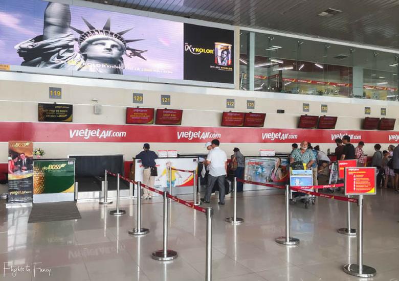 Flights To Fancy: Vietjet Air A320 Domestic Economy - Vietjet Domestic Check In