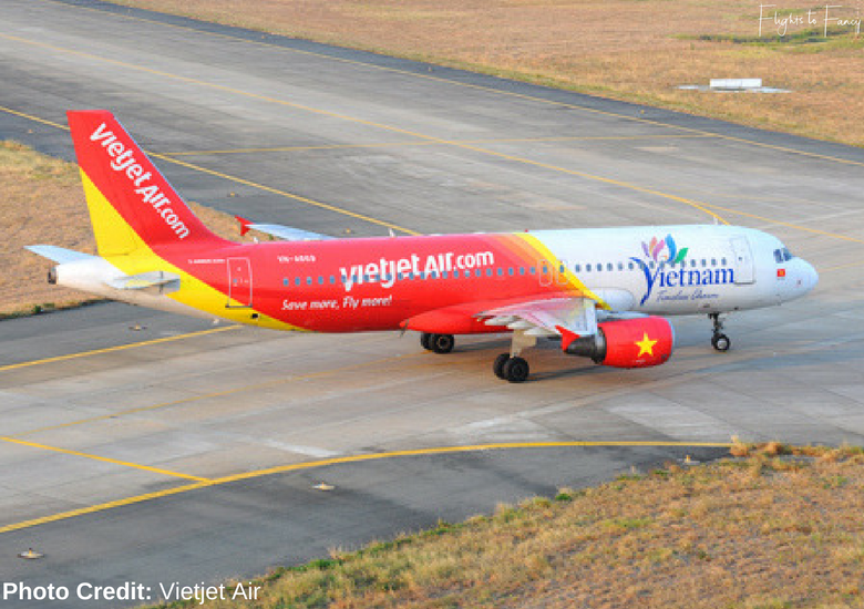 Flights To Fancy: Vietjet Air A320 Domestic Economy