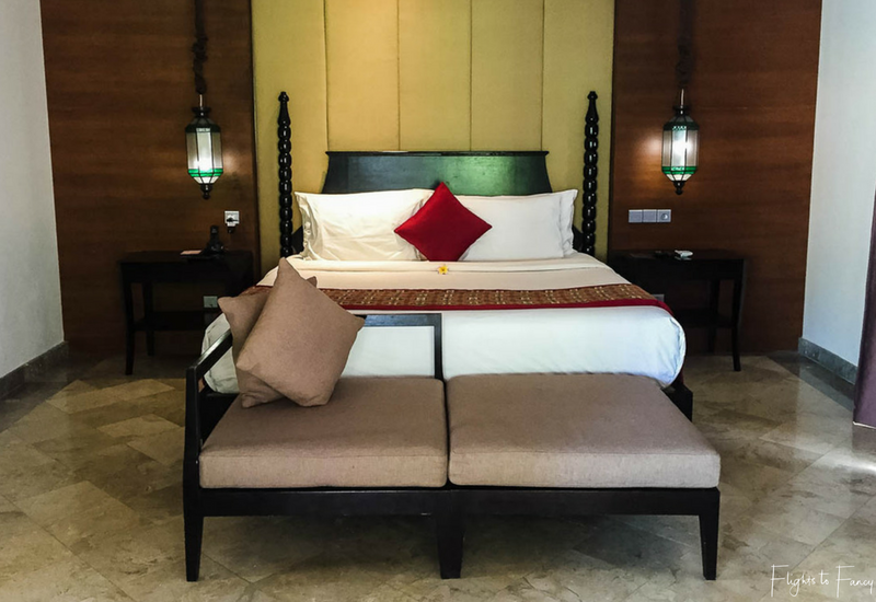 The Club Villas Seminyak: Bedroom in 1 bedroom honeymoon suite