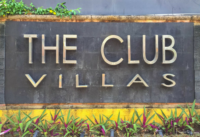The Club Villas Seminyak: Entry sign