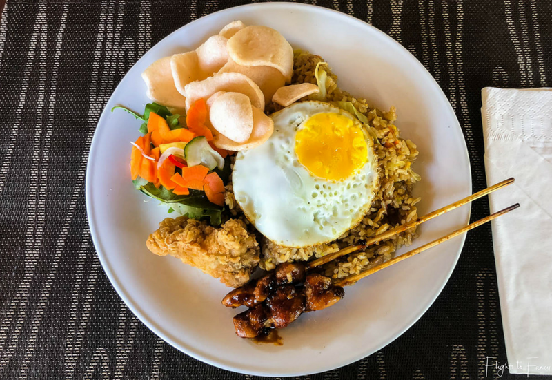 The Club Villas Seminyak: Indonesian Breakfast
