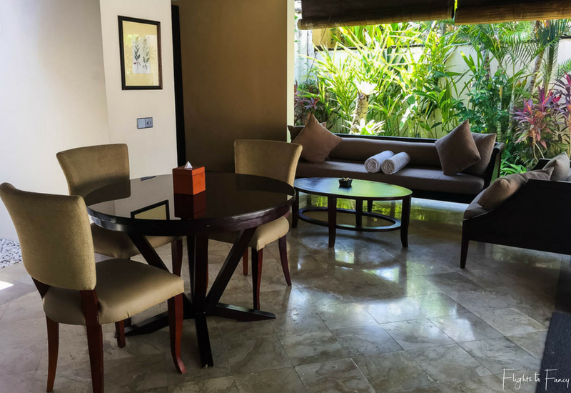 The Club Villas Seminyak: Living & Dining area in Seminyak Villas 1 Bedroom
