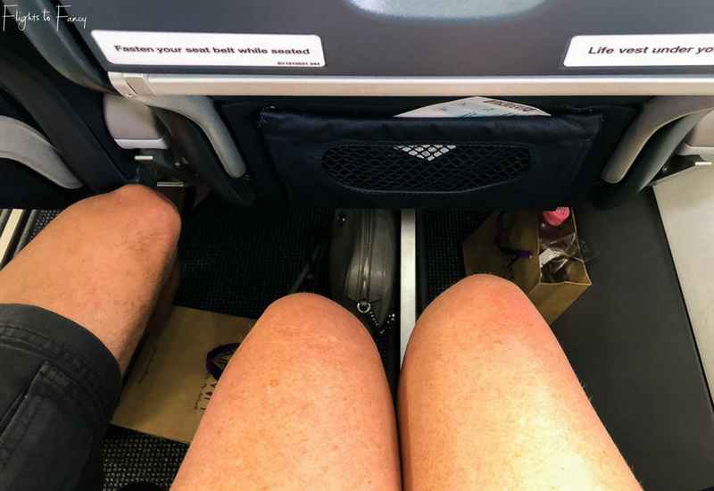 AirSWIFT Airlines Leg Room