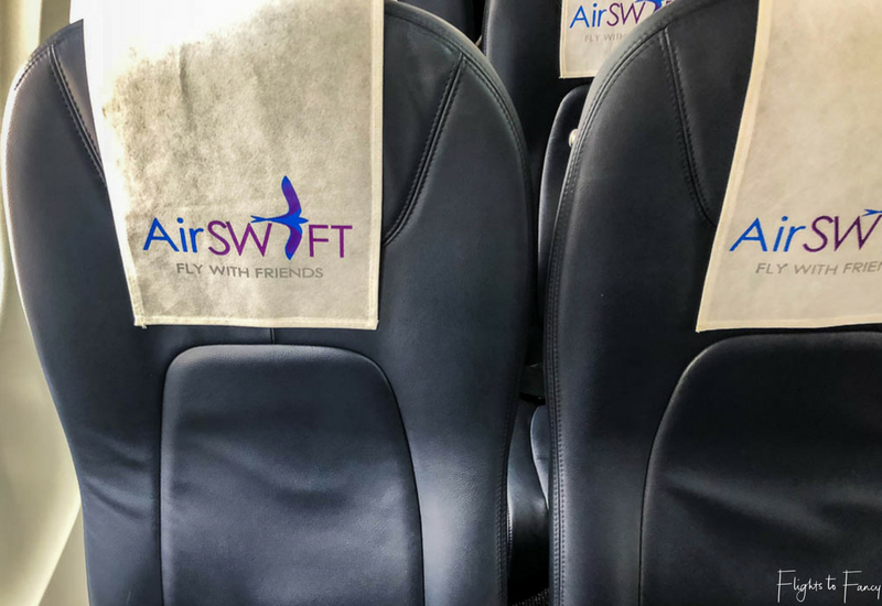 AirSWIFT Airlines Seats on all flights from Cebu to El Nido