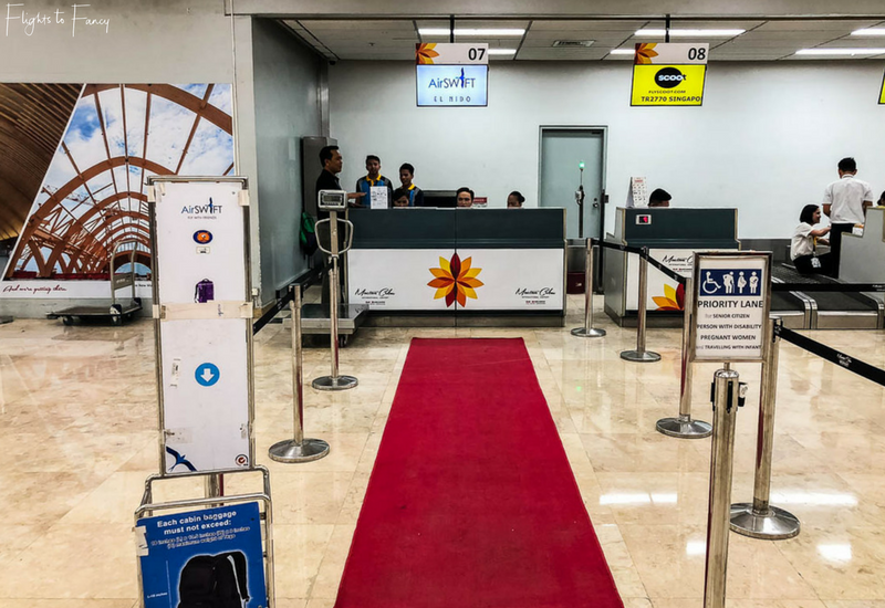 AirSWIFT Airlines: Check in at Mactan Cebu Airport