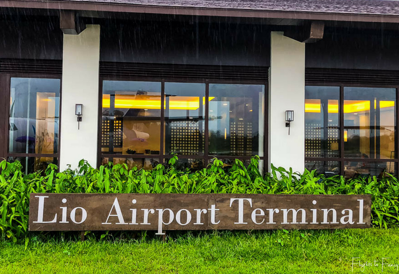 AirSWIFT El Nido terminal at Lio Airport