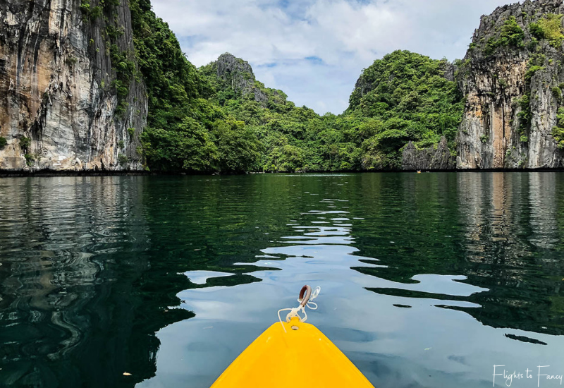 Big Lagoon El Nido Kayaking