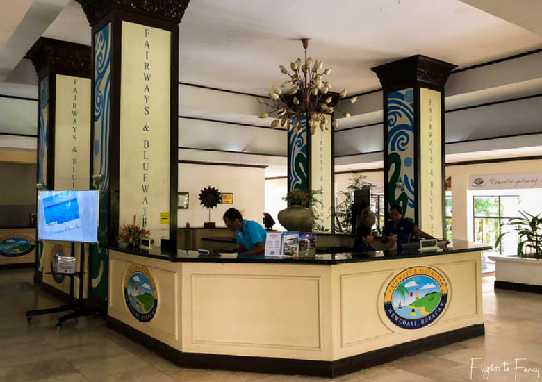 Caticlan Reception - Flights To Fancy at Coast Boracay