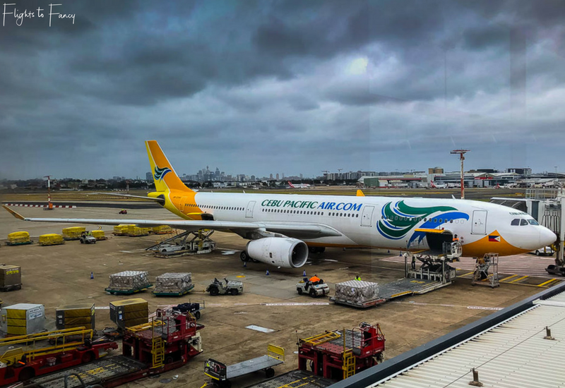 Cebu Pacific 5J40 - Cheap Flight From Sydney to Manila