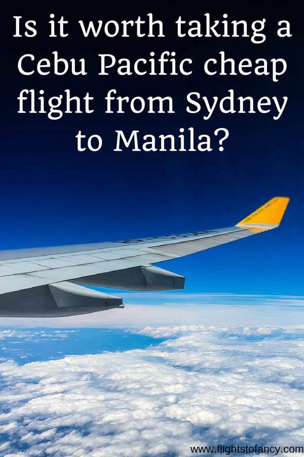 I found a really cheap flight from Sydney to Manila on Cebu Pacific and booked it on a whim. The Cebu Pacific baggage allowance was minimal, the Cebu Pacific inflight entertainment was non-existent and I had to wrangle with Cebu Pacific customer service. Find out what it's really like on flight 5J40 ... #cebupacific #airlinereview #cheapflight #cheapflightsydneytomanila