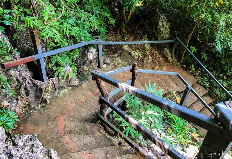 Coron Island Hopping: Kayangan Lake Stairs