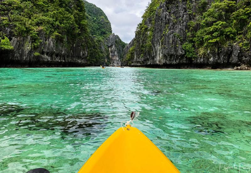 El Nido Kayaking Miniloc Island