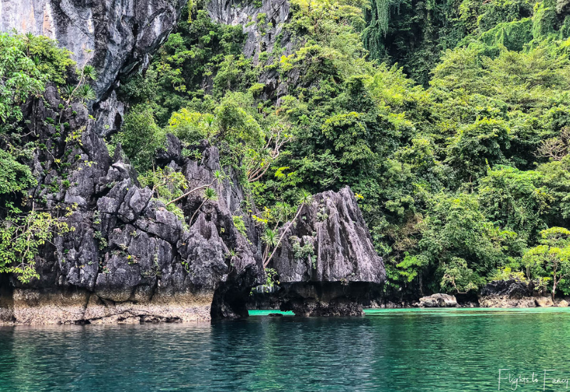 El Nido Tour A - Limestone Cliffs of Big Lagoon El Nido