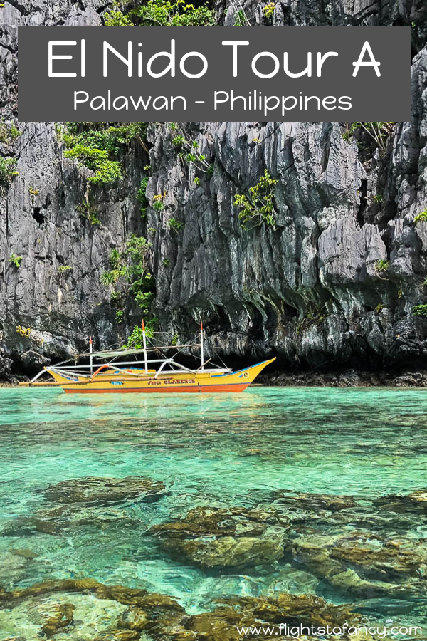 On El Nido Tour A you will visit El Nido Big Lagoon, Secret Lagoon El Nido, Shimizu Island and Seven Commandos Beach. This El Nido island hopping tour is a must do in Palawan, Philippines. #elnido #elnidoislandhopping #palawan #philippines #elnidotoura