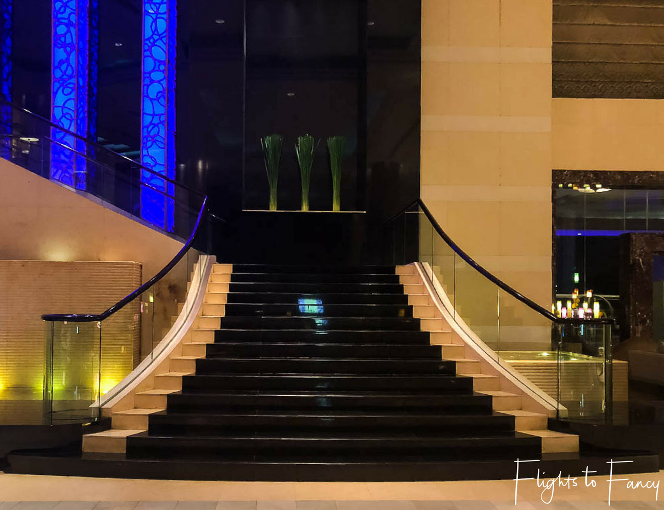 Flights To Fancy @ Radisson Blu Cebu City. Grand staircase