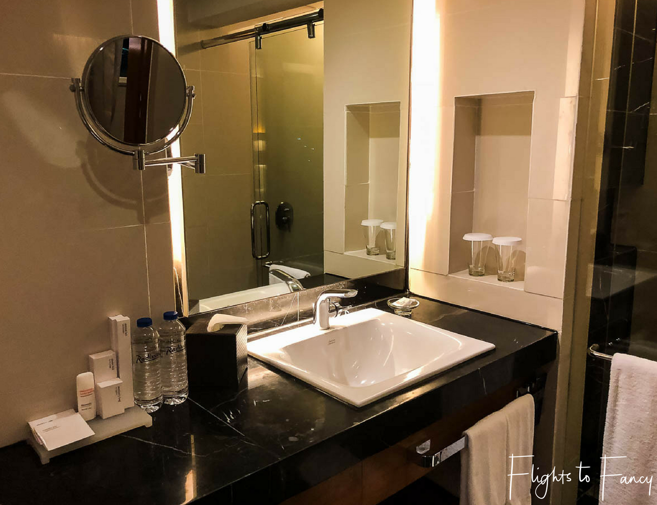 Flights To Fancy @ Radisson Blu Cebu City. Luxury bathroom