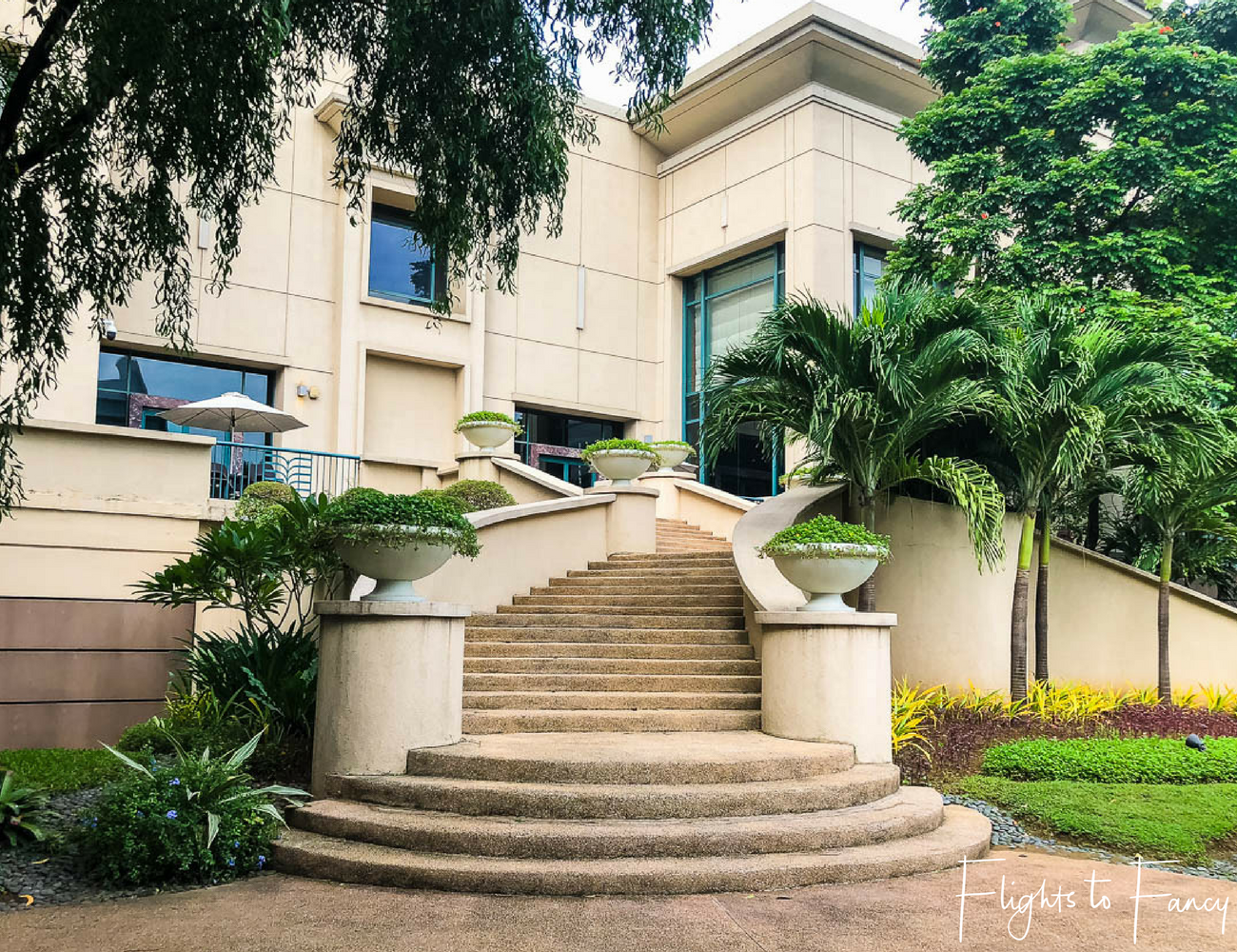 Flights To Fancy @ Radisson Blu Cebu City. Outdoor steps. Hotel near SM Cebu City