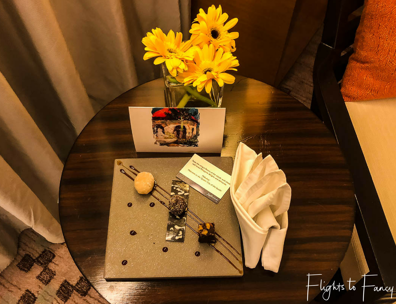 Flights To Fancy @ Radisson Blu Cebu City. Sweet treats