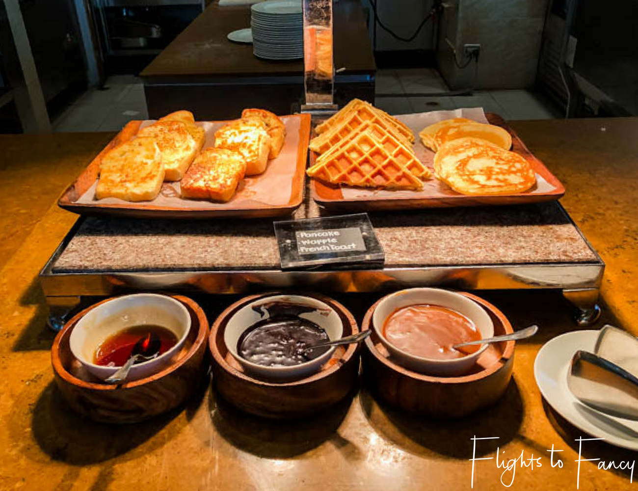Flights To Fancy @ Raffles Makati Manila - Breakfast Spread