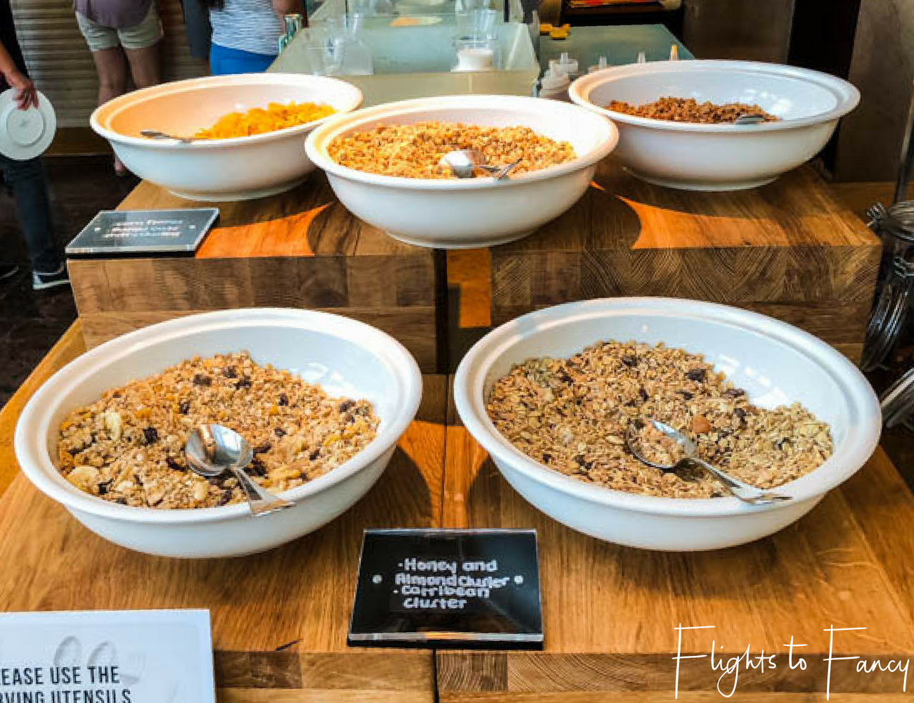 Flights To Fancy @ Raffles Makati Manila - Cereal Breakfast Buffet